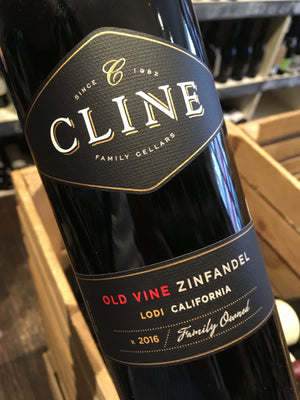 Cline Cellars Lodi Zinfandel 2016 75cl