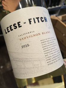 Leese-Fitch Sauvignon Blanc 2015 75cl