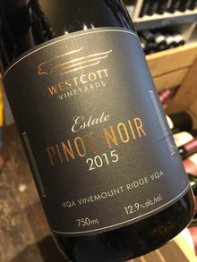 Westcott Estate Pinot Noir 2016 75cl