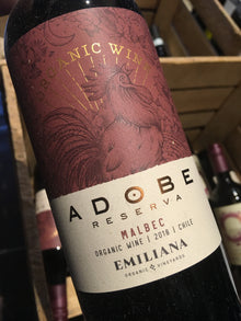 Emiliana Adobe Malbec 2018 75cl