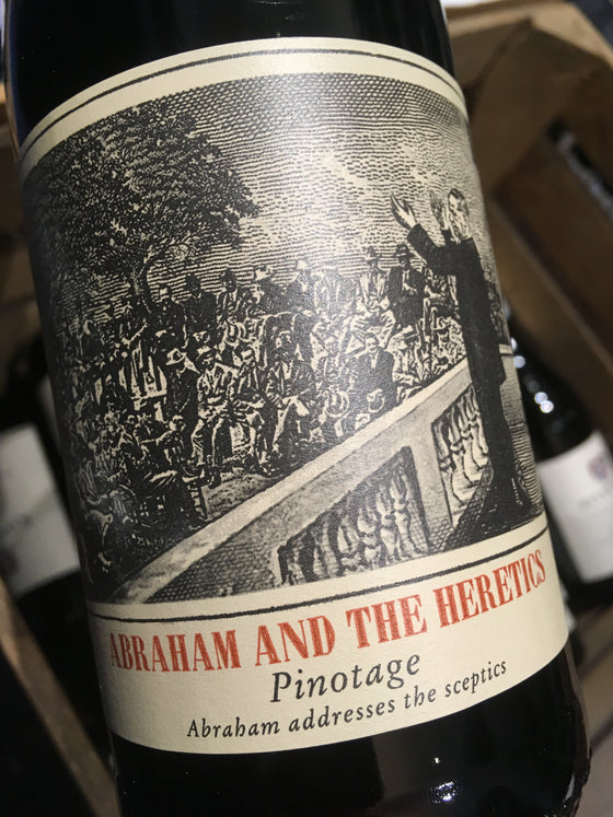 Abraham & The Heretics Pinotage 2016 75cl