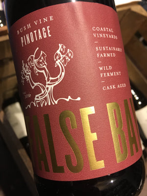 "False Bay ""Bush Vine"" Pinotage 2014 75cl"