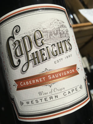 Cape Heights Cabernet Sauvignon 2013 75cl