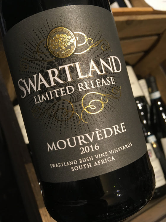 Swartland Winery Limited Release Mourvedre 2016 75cl
