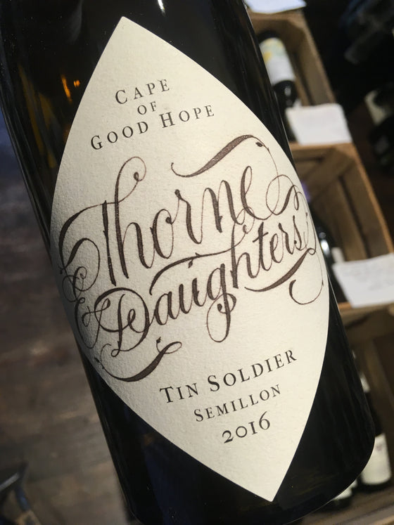 Thorne & Daughters Tin Soldier 2016 75cl