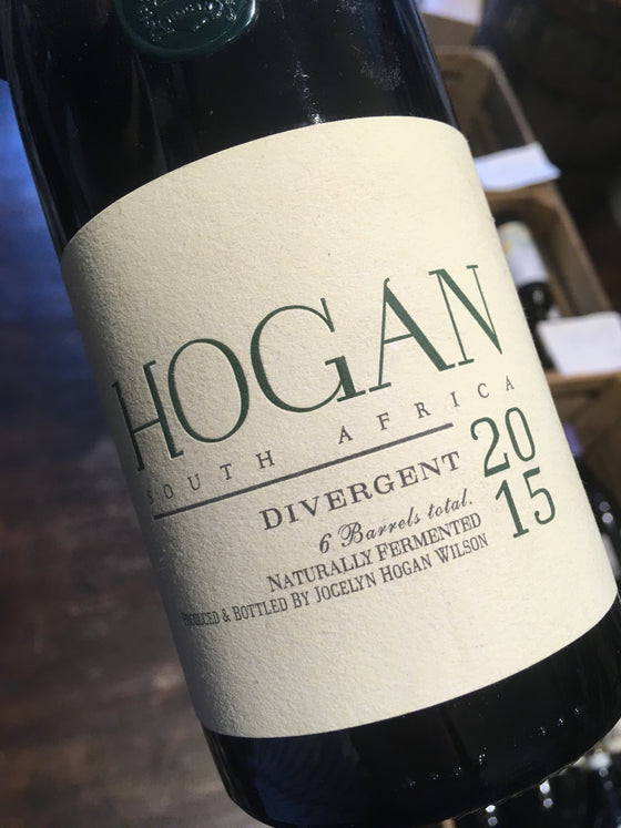 Hogan Wines Divergent 2015 75cl