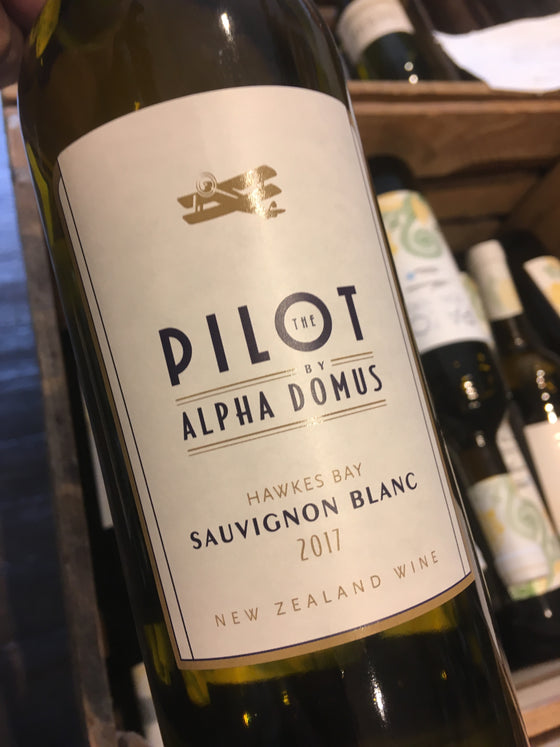 Alpha Domus The Pilot Sauvignon Blanc 2017 75cl