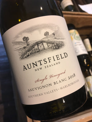 Auntsfield Single Vineyard Sauvignon Blanc 2018 75cl