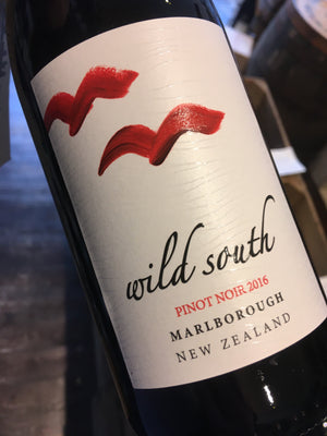 Wild South Pinot Noir 2016 75cl