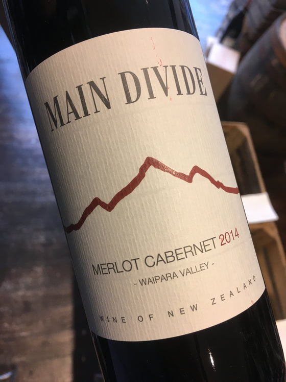 Main Divide Merlot Cabernet 2014 75cl