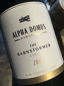 Alpha Domus The Barnstormer Syrah 2013 75cl