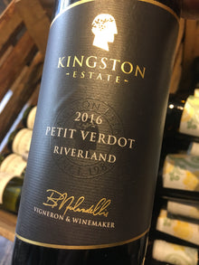 Kingston Estate Petit Verdot 2016 75cl