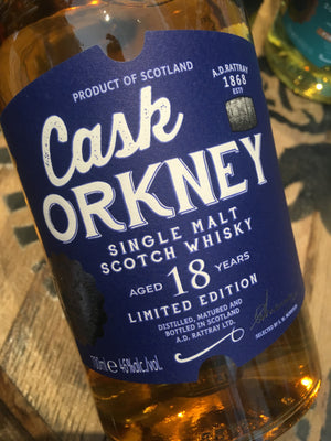 Cask Orkney 18 Year Old 70cl