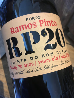 Ramos Pinto Quinta do Bom Retiro 20 Year Old Tawny Port 75cl