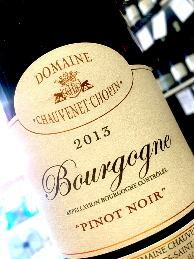 Domaine Chauvenet-Chopin Bourgogne Rouge 2013 75cl