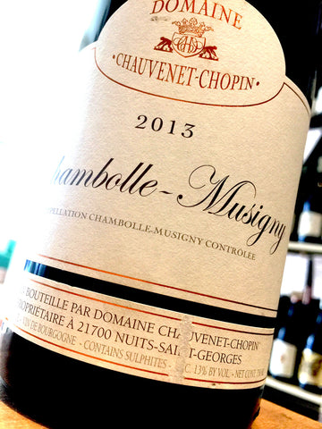 Domaine Chauvenet-Chopin Chambolle Musigny 2013 75cl