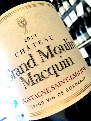 Chateau Grand Moulin Macquin 2012 75cl