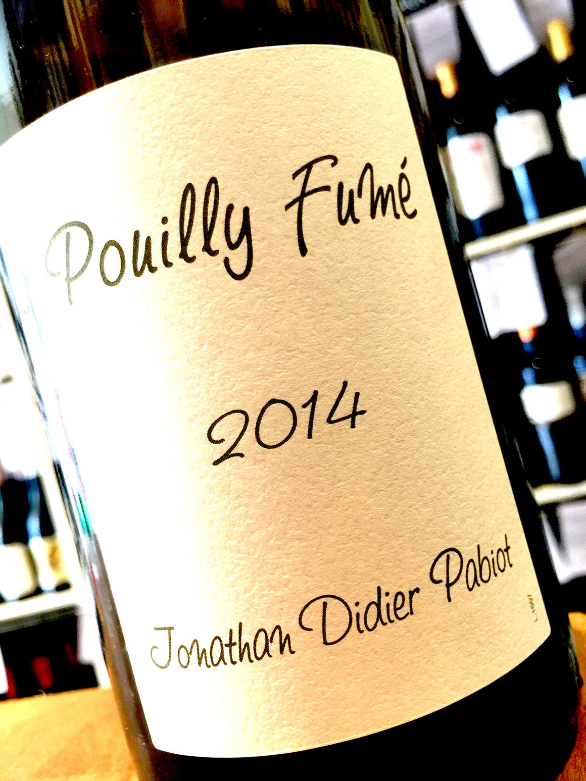 Jonathan Pabiot Pouilly Fume 2014 75cl