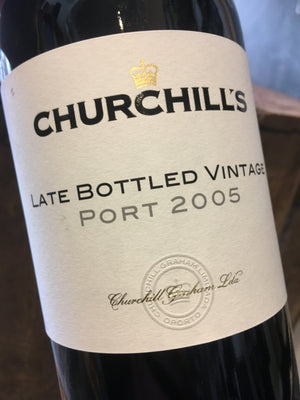 Churchill Late Bottled Vintage Port 2005 75cl
