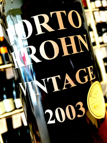 Krohn Vintage Port 2003 75cl