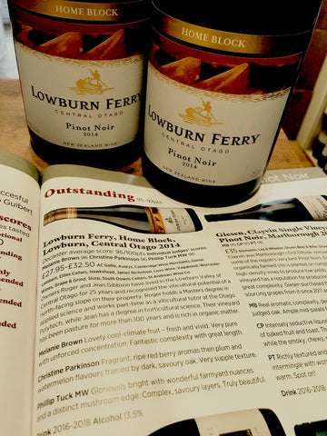 Lowburn Ferry Home Block Pinot Noir 2014 75cl