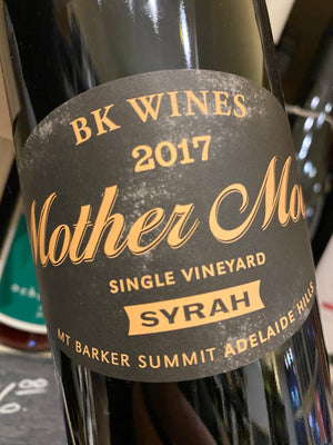 BK Wines Mother Moon Syrah 2017 75cl