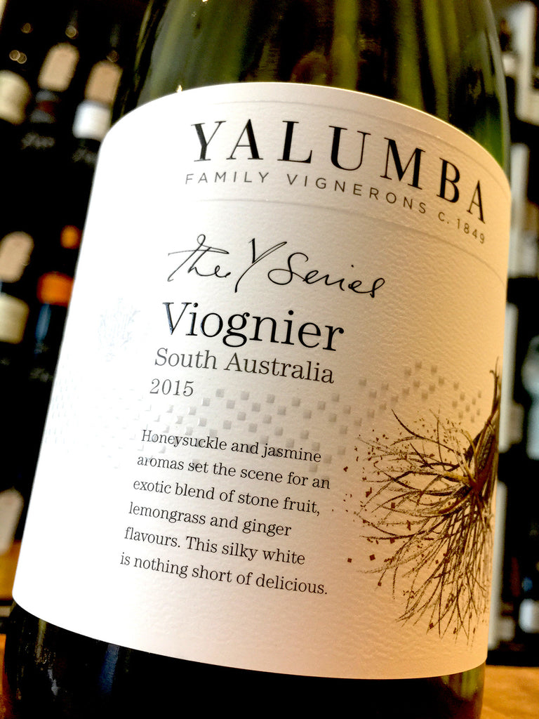 Yalumba The Y Series Viognier 2015 75cl