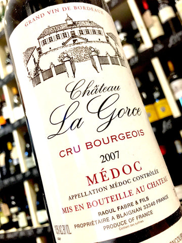 Chateau La Gorce 2007 75cl