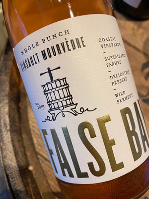 "False Bay ""Whole Bunch"" Cinsault Mourvedre Rose 2018 75cl"