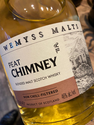 Wemyss Malts Peat Chimney Blended Malt 70cl