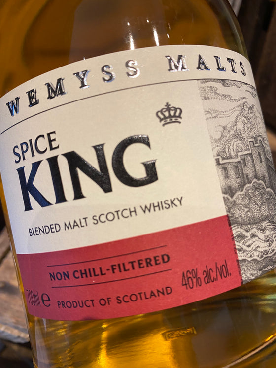 Wemyss Malts Spice King Blended Malt 70cl
