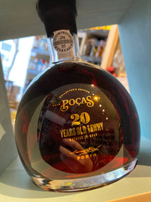 Pocas 20 Year Old Tawny Port Decanter 75cl