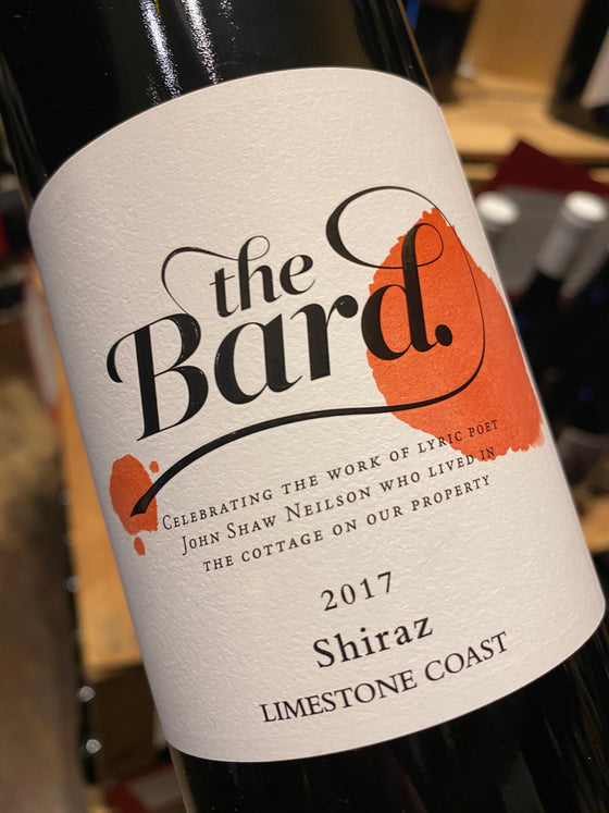 Hollick 'The Bard' Shiraz 2017 75cl