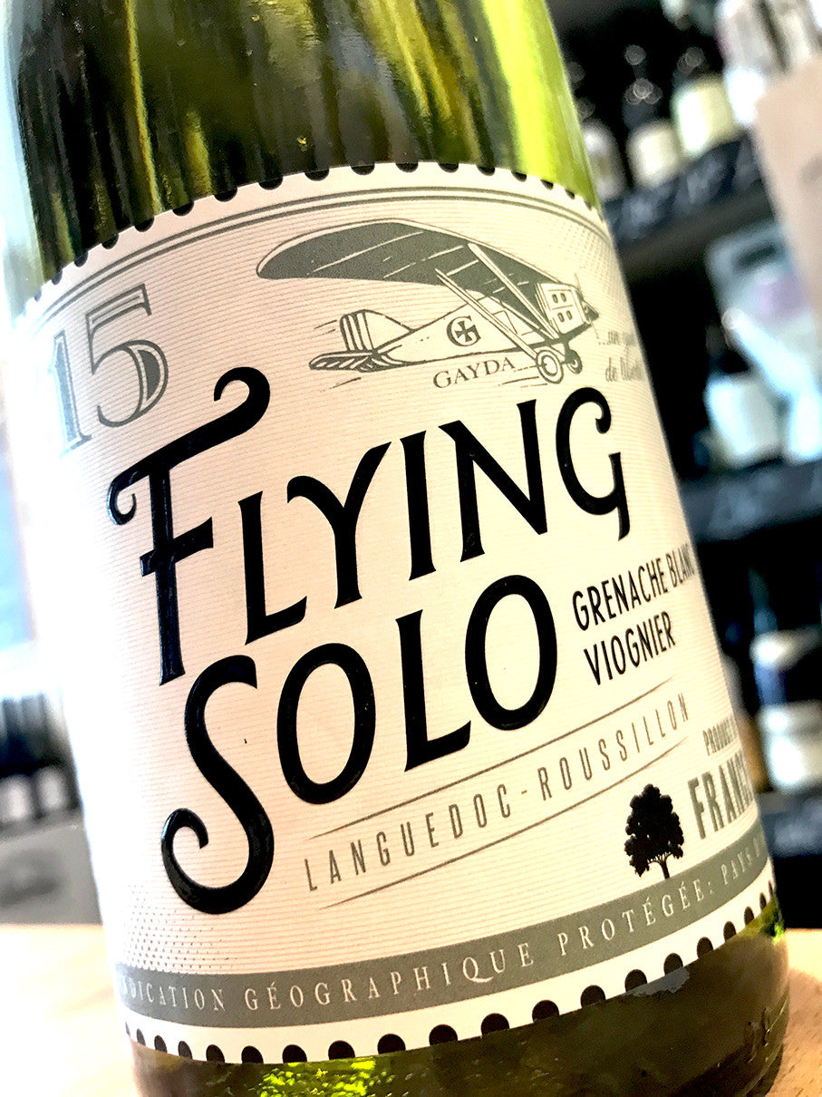 Domaine Gayda Flying Solo Blanc 2014 75cl