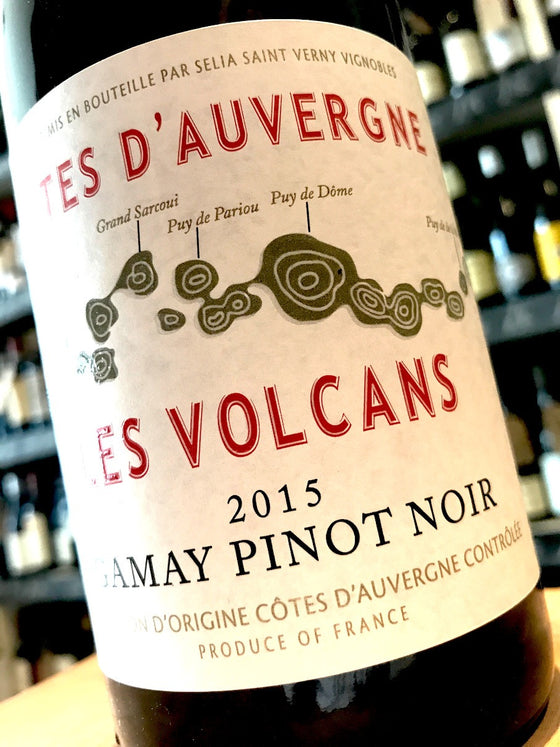 Cave Saint-Verny Les Volcans Gamay Pinot Noir 2015 75cl