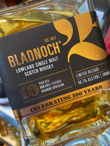 Bladnoch 10 Year Old Bourbon Cask 70cl