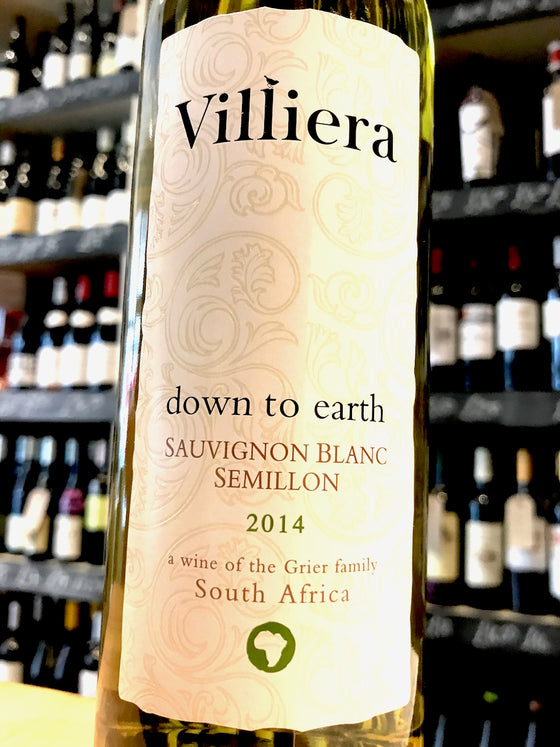 Villiera Down to Earth White 2014 75cl