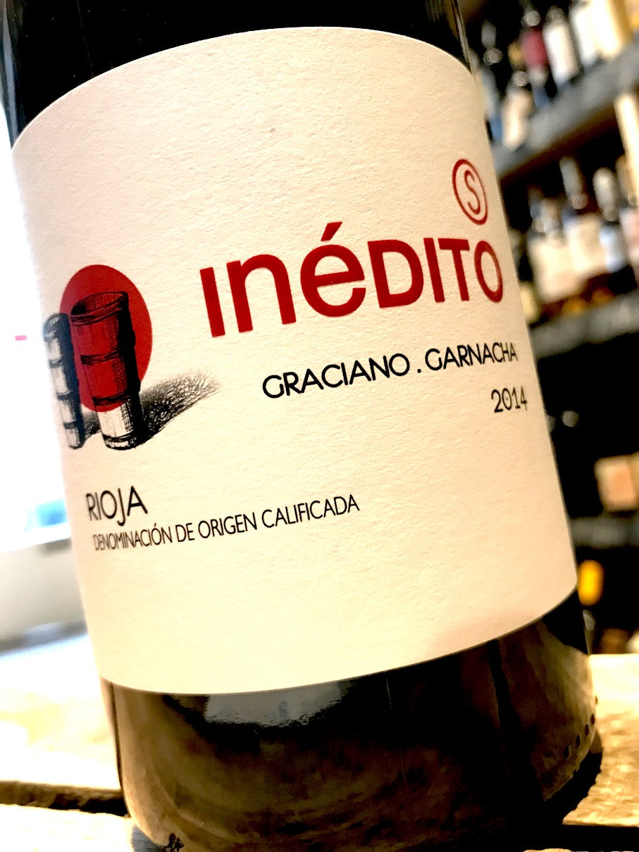 Bodegas Lacus Inedito Selection Rioja 2014 75cl
