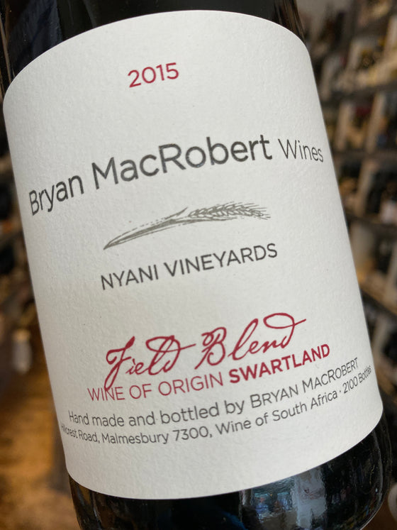 Bryan MacRobert Wines Field Blend 2015 75cl