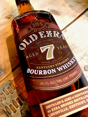 Old Ezra 7 Year Old Bourbon Whiskey 70cl