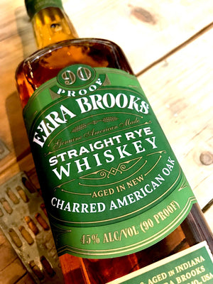 Ezra Brooks Straight Rye Whiskey 70cl