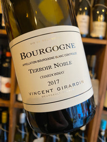 Vincent Girardin Bourgogne Blanc Terroir Noble 2017 75cl
