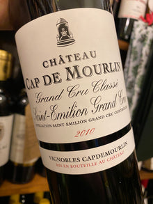 Chateau Cap de Mourlin 2010 75cl