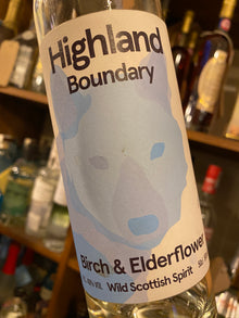 Highland Boundary Birch and Elderflower 50cl
