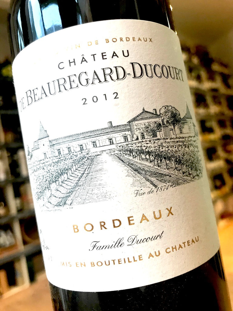 Chateau Beauregard-Ducourt Rouge 2015 75cl