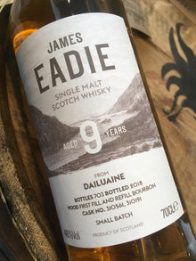 James Eadie Dailuaine 9 Year Old 70cl