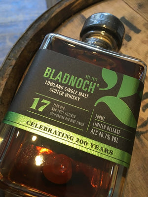 Bladnoch 17 Year Old Californian Red Wine Finish 70cl