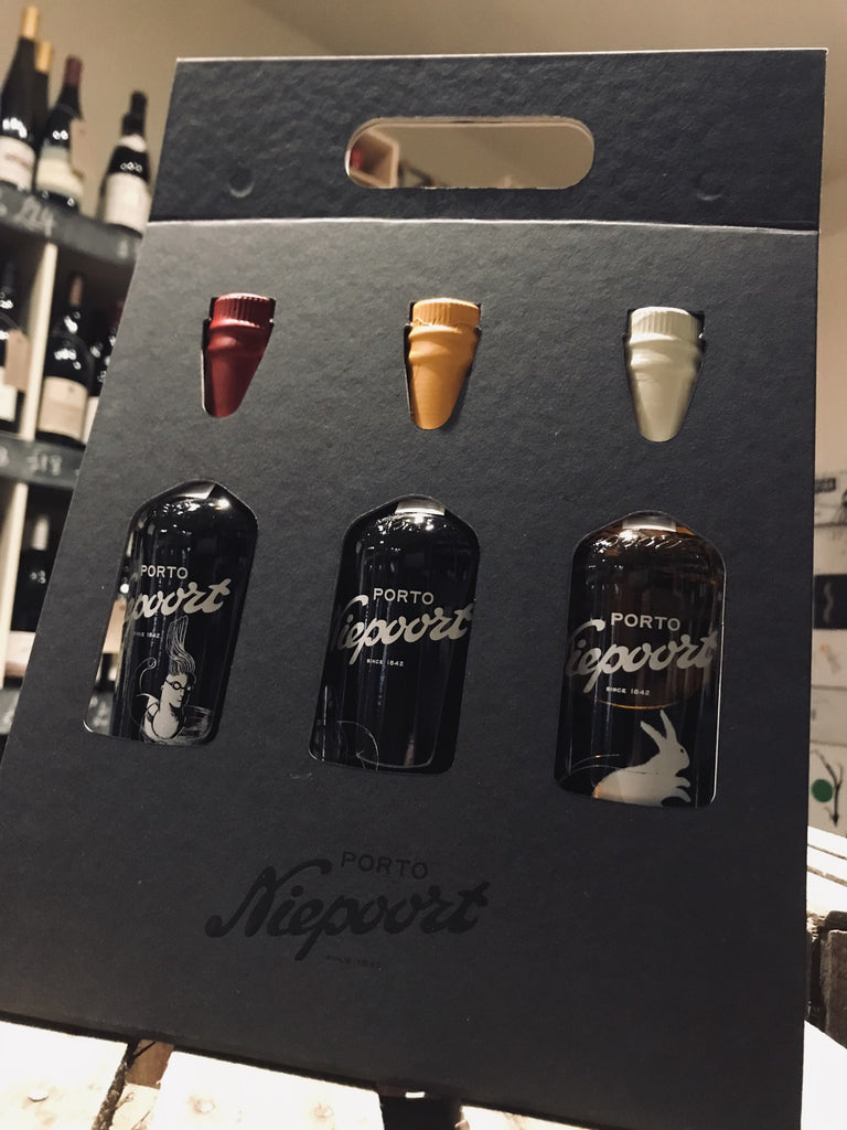Niepoort Trio of Port Gift Pack 3x35cl