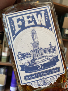 Few Spirits Rye Whiskey 70cl