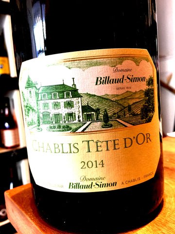 Domaine Billaud-Simon Chablis Tete d'Or 2014 150cl